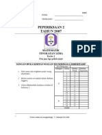 2007 MidTerm Johor (Math_P2)