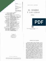 Sartre Jean Paul - Situacion 1 - El Hombre Y Las Cosas (1947)