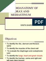 Radio Anatomy of the Thorax and Medias Tin Um 9-17