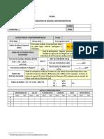 Ficha 1. Registro Datos