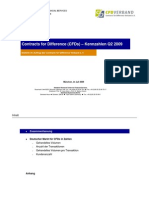 Contracts for Difference (CFDs) – Kennzahlen Q2 2009 für Deutschland