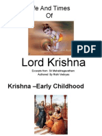 Lord Krishna Part II