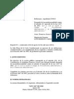 C-634-11 Prevalencia Jurisprudencia Constitucional Sobre Contenciosa