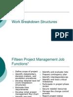 Work Breakdown Structures Misc