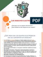 Los desechos electrónicos