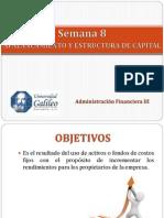 Semana 8 Apalancamiento y Estructura de Capital