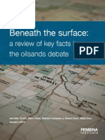 Beneath the Surface Oilsands Facts 201301