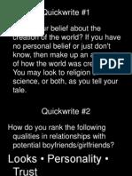5quickwritetopics
