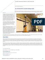 Alstom Grid Takes a Leading Position in the 820 KV DC Converter Bushings Market