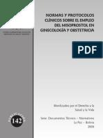 2009 Res Ministerial 0426-Bolivia-2009