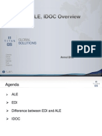 ALE,Idoc Overview
