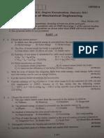 vtu 1st year mechanical question paper