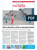 Dieta Educativa Contra La Obesidad Infantil.la Voz de La Escuela.22.01.2014