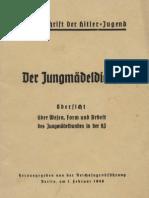 (1940) Der Hitler jugend - Der Jung maedel dienst