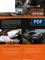 Chrysler Group Certified Pre-Owned Vehicle Consumer_Brochure