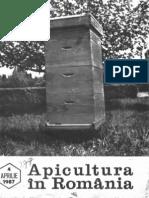 Apicultura in Romania Nr. 4 - Aprilie 1987