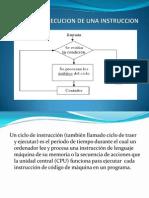 Ciclo de Ejecucion de Una Instruccion[1]