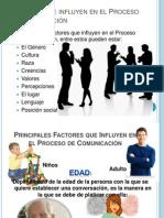 Factores Que Influyen en El Proceso de Comunicacion