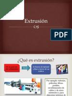 Extrusión