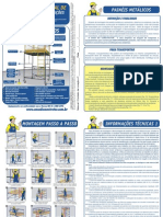 Manual Instrucoes Painel Metalico Andaime