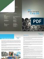 Welspun Corp OTC Brochure2012