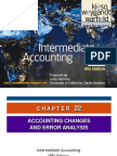 Kieso Inter Ch22 - IfRS (Accounting Changes)