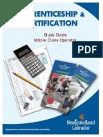 Study GuideMobile Crane