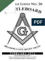 February 2014 Trestleboard