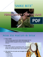Gigitan Ular SWB Clinic By MN.ppt
