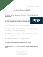 Key Amendments to the Anti Homosexuality Bill-1