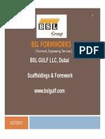 BSL Formwork