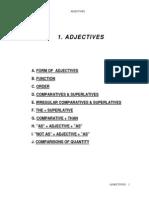 01. Adjectivul