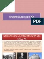 Clase 02_Arquitectura Siglo XX_ORIGENES