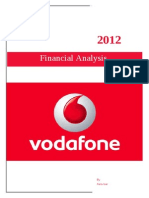 Financial Analysis of Vodafone Group Plc