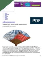 7 razones para no usar el aire acondicionado __ Alterconsumismo __ Blogs EL PAÍS