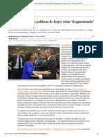 """Botella cree que las políticas de Rajoy están """"fragmentando"""" la base del PP _ Política _ EL PAÍS"""