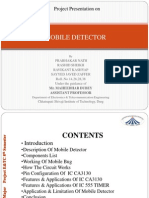 mobile cell phone detector
