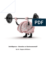 Intelligence - Genetics OR Environmental?