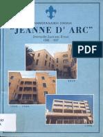 Ecole Jeanne D'Arc Souvenir 1996-1997