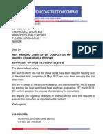 Handing Over Nakuru Prisons