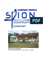 Spion Construction Current Profile November