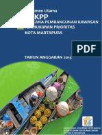 Rencana Pembangunan Kawasan Permukiman Prioritas (RPKPP) Martapura Kalimantan Selatan Indonesia