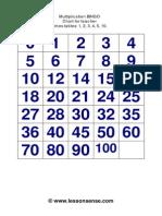 Time Stables Bingo