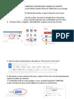 Tutorial Condivisione File Google Docs