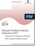 Vietnam Fertilizer Industry Research Report