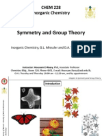 Chapter 4 - Symmetry and Group Theory