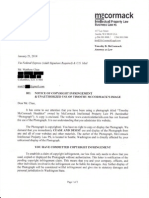 McCormack Defamation-Harassment Letter to ELI