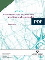 Psicometria. Conceptos Basicos y Aplicaciones Practicas Con Rcommander