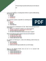 Soal hematologi 2014