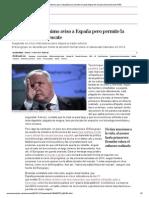 Bruselas da el enésimo aviso a España pero permite la salida limpia del rescate _ Economía _ EL PAÍS